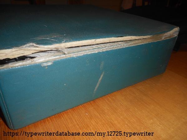 The vinyl cases often split -- it's not too bad otherwise