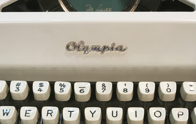"""Olympia """"SM9"""" from the logo up front..."""