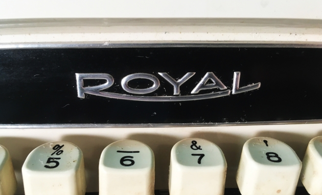 """Royal """"Custom"""" from the logo in the front..."""