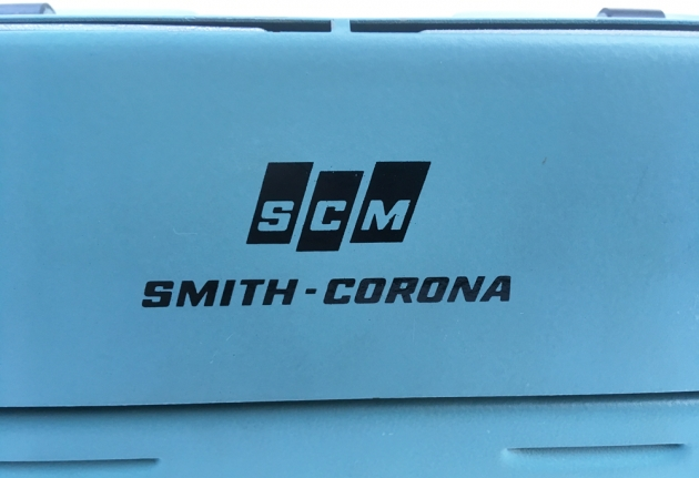 "Smith Corona ""Sterling""  from the back (detail)..."
