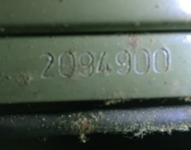 "Optima ""Humber 77"" serial number location..."