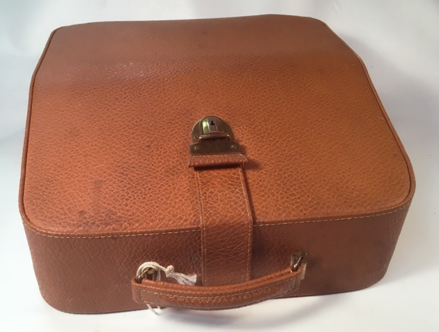 "Optima ""Humber 77"" leather travel case..."