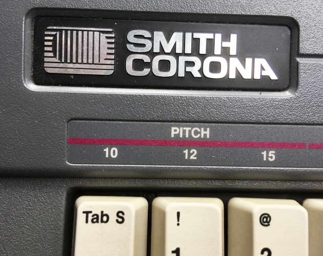 "Smith Corona ""SL 450"" maker logo..."