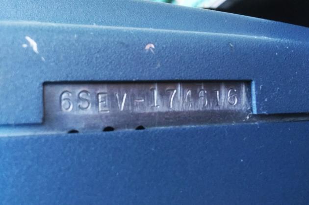 "Smith Corona ""Electra 110"" serial number location..."