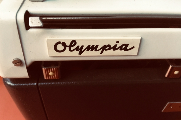 "Olympia ""SM9"" from the back (detail)..."