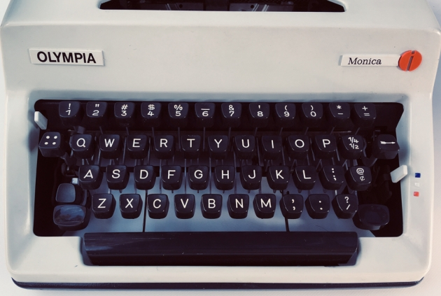 "Olympia ""Monica"" from the keyboard..."