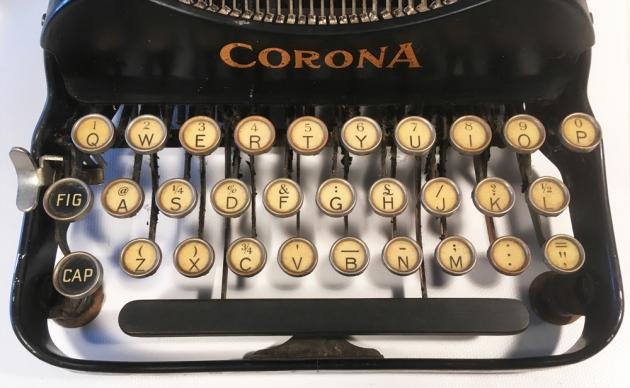 "Corona ""3"" from the keyboard..."