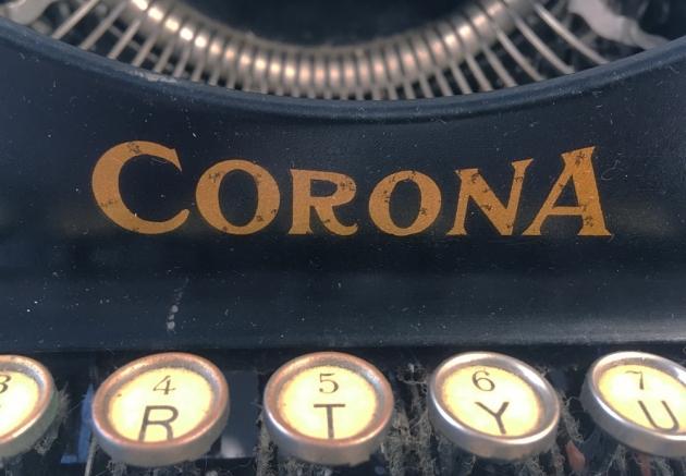 "Corona ""3"" from the front logo..."