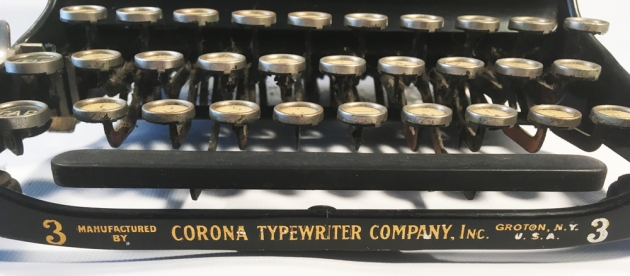 """Corona """"3"""" from the bottom model number..."""