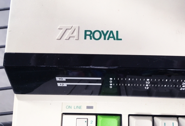 "Royal ""Alpha 600"" from the logo on the top..."