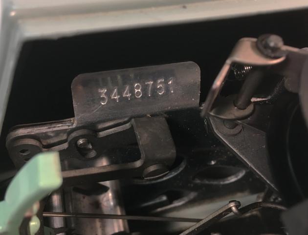 """Hermes """"3000"""" serial number location...."""