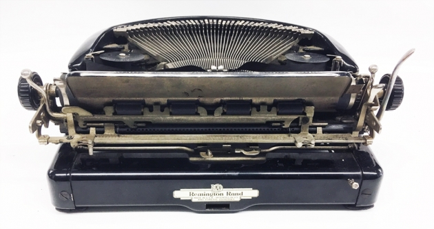 "Remington ""Model 5 Streamline"" from the back..."