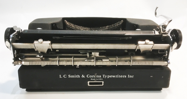 """Smith Corona """"Sterling"""" from the back..."""