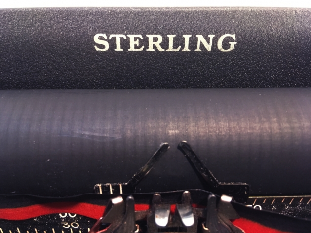 """Smith Corona """"Sterling"""" from the logo up top..."""