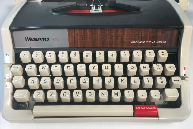 """Wedgefield """"200"""" from the keyboard..."""
