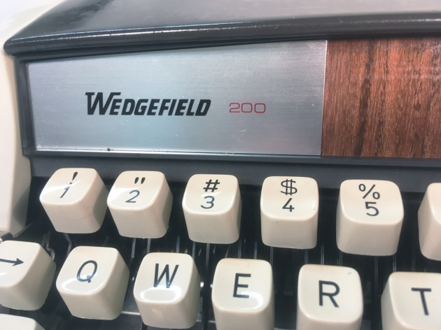 """Wedgefield """"200"""" from the right side..."""