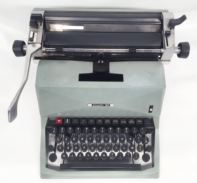 "Olivetti ""Diaspron 82"" from the top..."