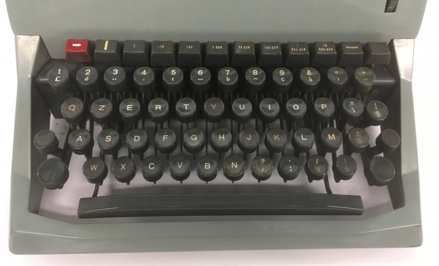 "Olivetti ""Diaspron 82"" from the keyboard..."
