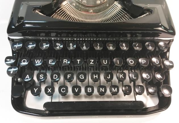 "Erika ""9"" from the (German) keyboard..."