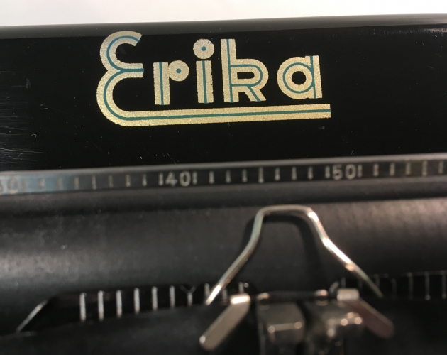 """Erika """"9"""" from the logo in the front..."""
