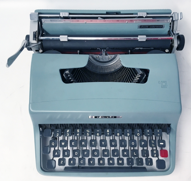 """Olivetti """"Lettera 32"""" from the top..."""