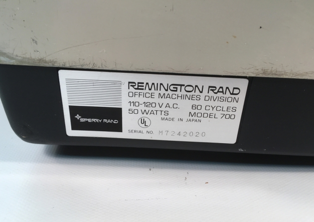 "Remington ""700 Electric"" serial number location..."