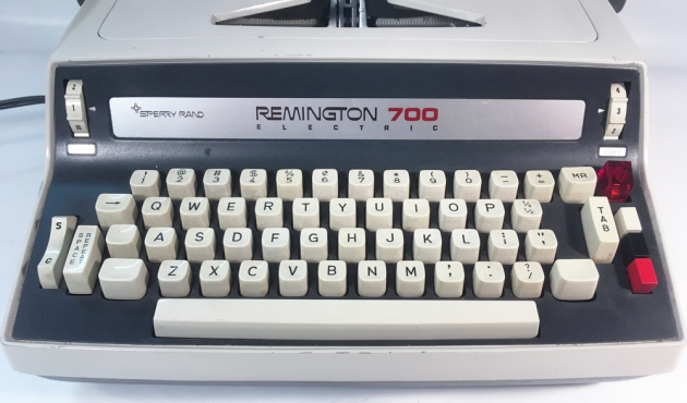 "Remington ""700 Electric"" from the keyboard..."