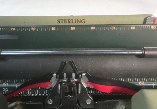 """Smith Corona """"Sterling"""" from the model logo at the top..."""