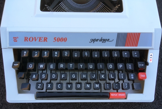 """Rover """"5000 Super de Luxe"""" from the keyboard..."""