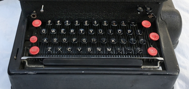 """IBM """"Electromatic"""" from the keyboard..."""
