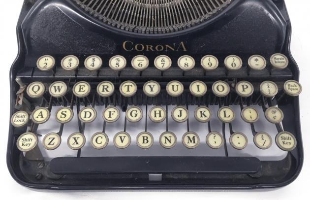 "Corona ""4"" from the keyboard..."