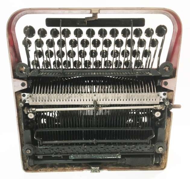 "Underwood ""Portable 4 Bank"" from the bottom..."