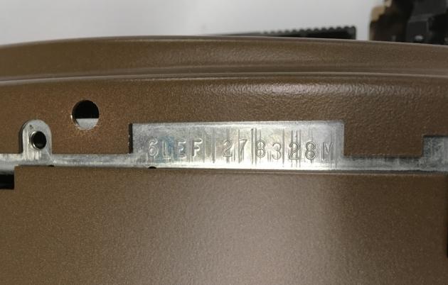 "Smith Corona ""Coronet Super 12 Coronamatic"" serial number location..."