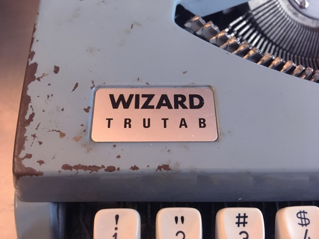 """Wizard TrueType """"TRUTAB"""" from the logo on the top..."""