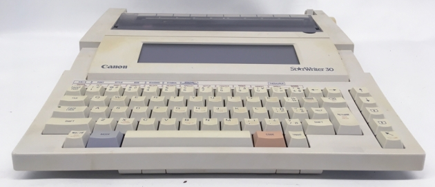 "Canon ""StarWriter 30"" from the front..."