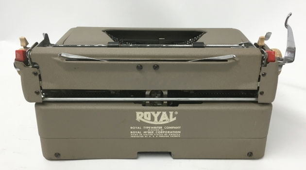 """Royal """"Quiet De Luxe"""" from the back..."""