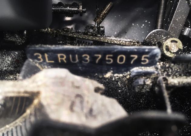 "Smith Corona ""Electra XT"" serial number location..."