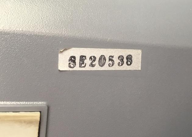 """Smith Corona """"Electra XT""""  random sticker on the bottom,I can't identify on many later SC's..."""