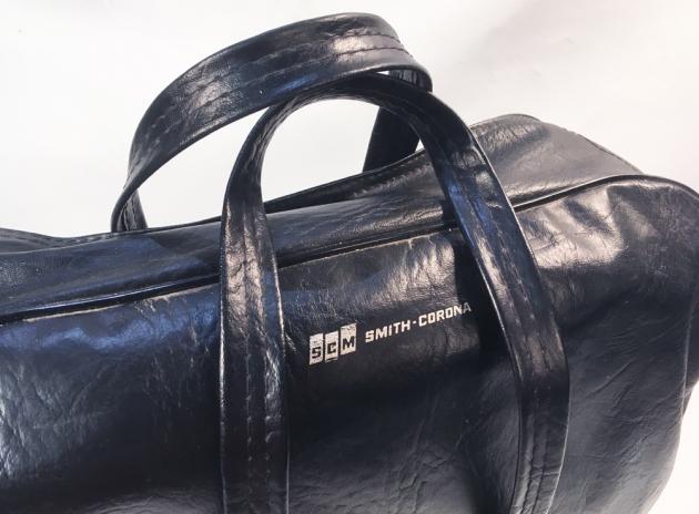 """Smith Corona """"Corona Seventy"""" carry bag, detail..."""