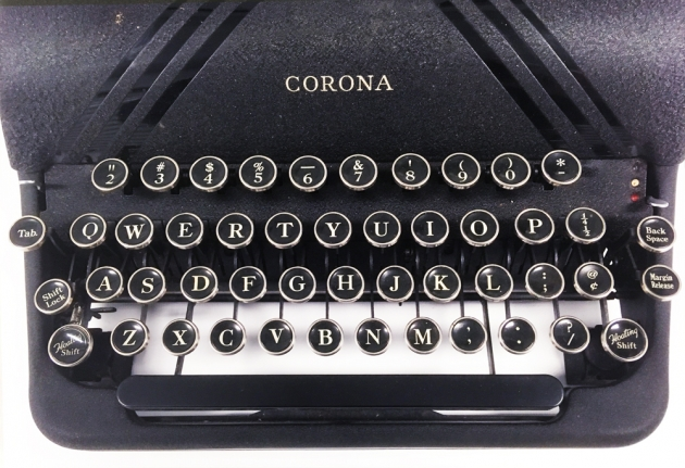 "Corona ""Silent"" from the keyboard..."