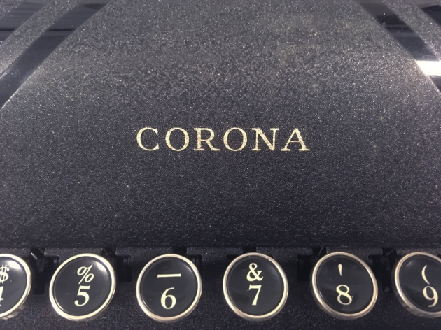 "Corona ""Silent"" from the logo up front..."