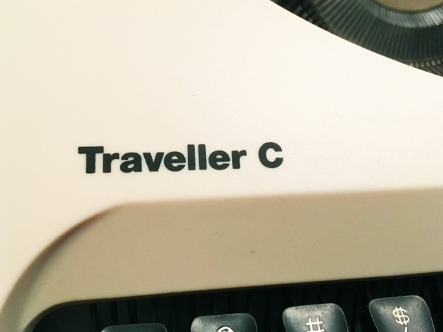 """199X Olympia """"Traveller C"""" logo on the left side..."""