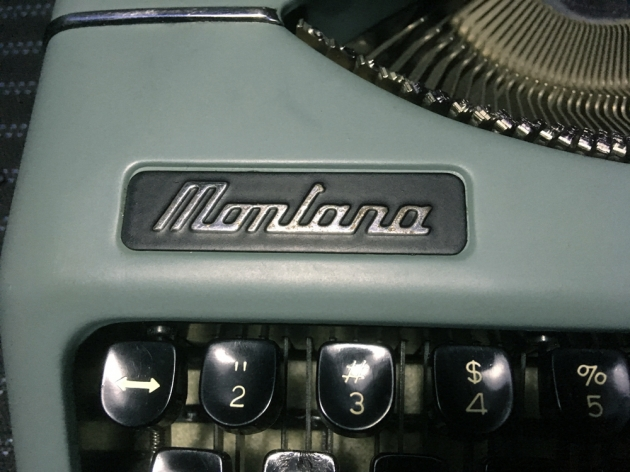 """Montana """"Montana"""" from the logo on the top..."""