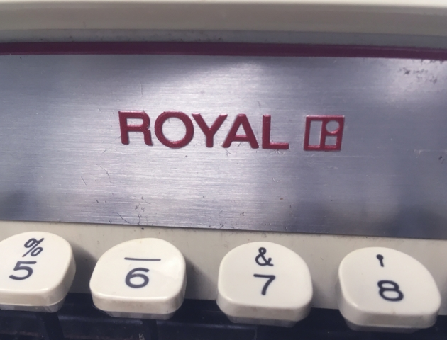 "Royal ""Custom"" logo on the front..."