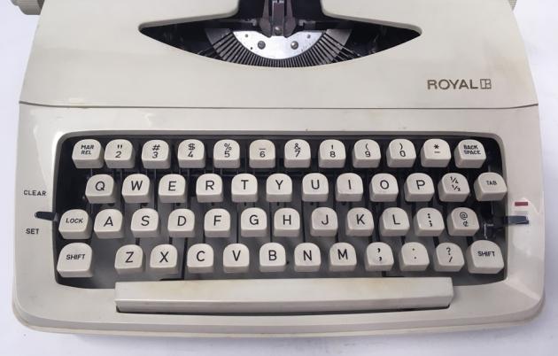 "Royal ""Skylark"" from the keyboard..."