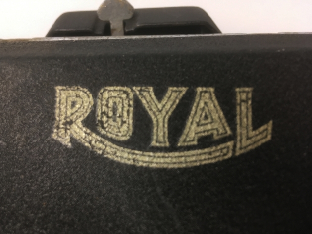 "Royal ""KHM"" from the logo on top..."