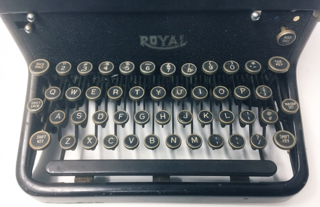 "Royal ""KHM"" from the keyboard..."