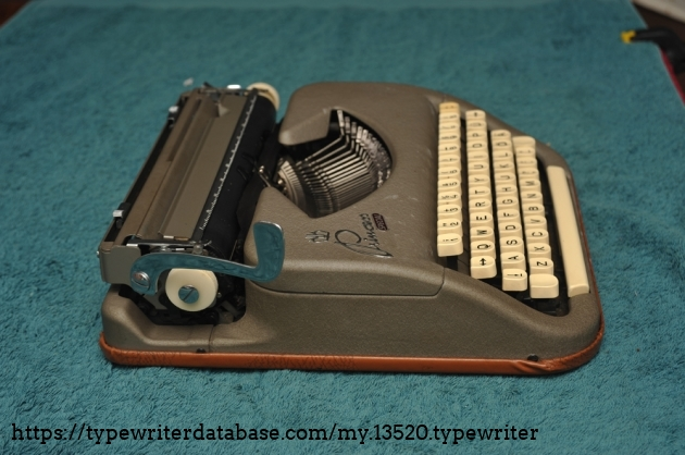 Princess Special, with German characters but QWERTY keyboard