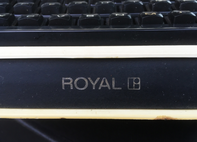 """Royal """"Apollo 10""""  from the logo up front  (detail)..."""