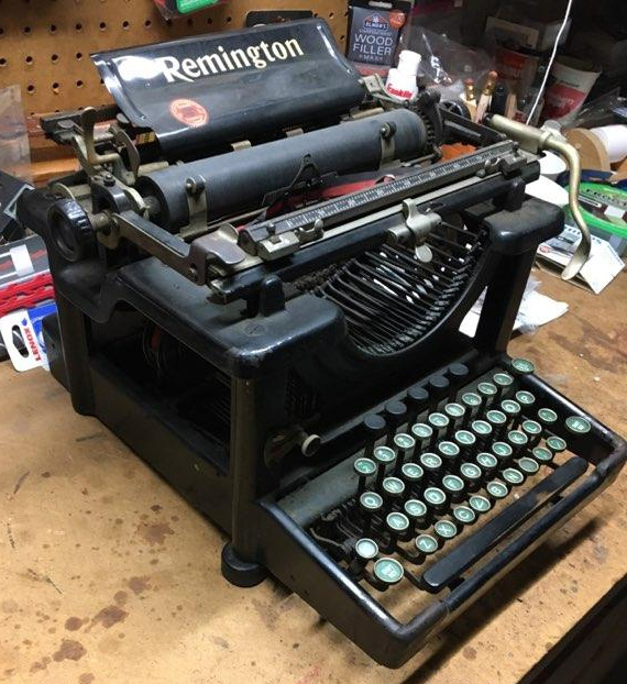 """Remington """"10"""" from the left side..."""